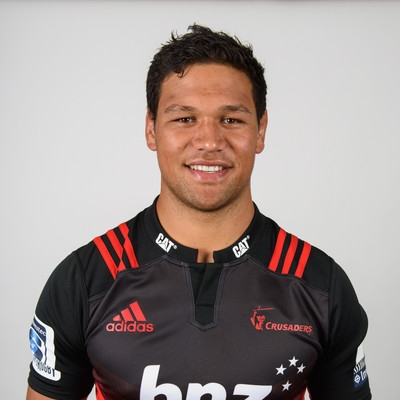 Whetu Douglas called into the Crusaders as injury cover for All Black captain Kieran Read.  Photo: Zimbio.