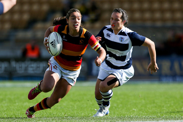 Stacey Waaka makes her getaway against Auckland.  Photo: Zimbio.