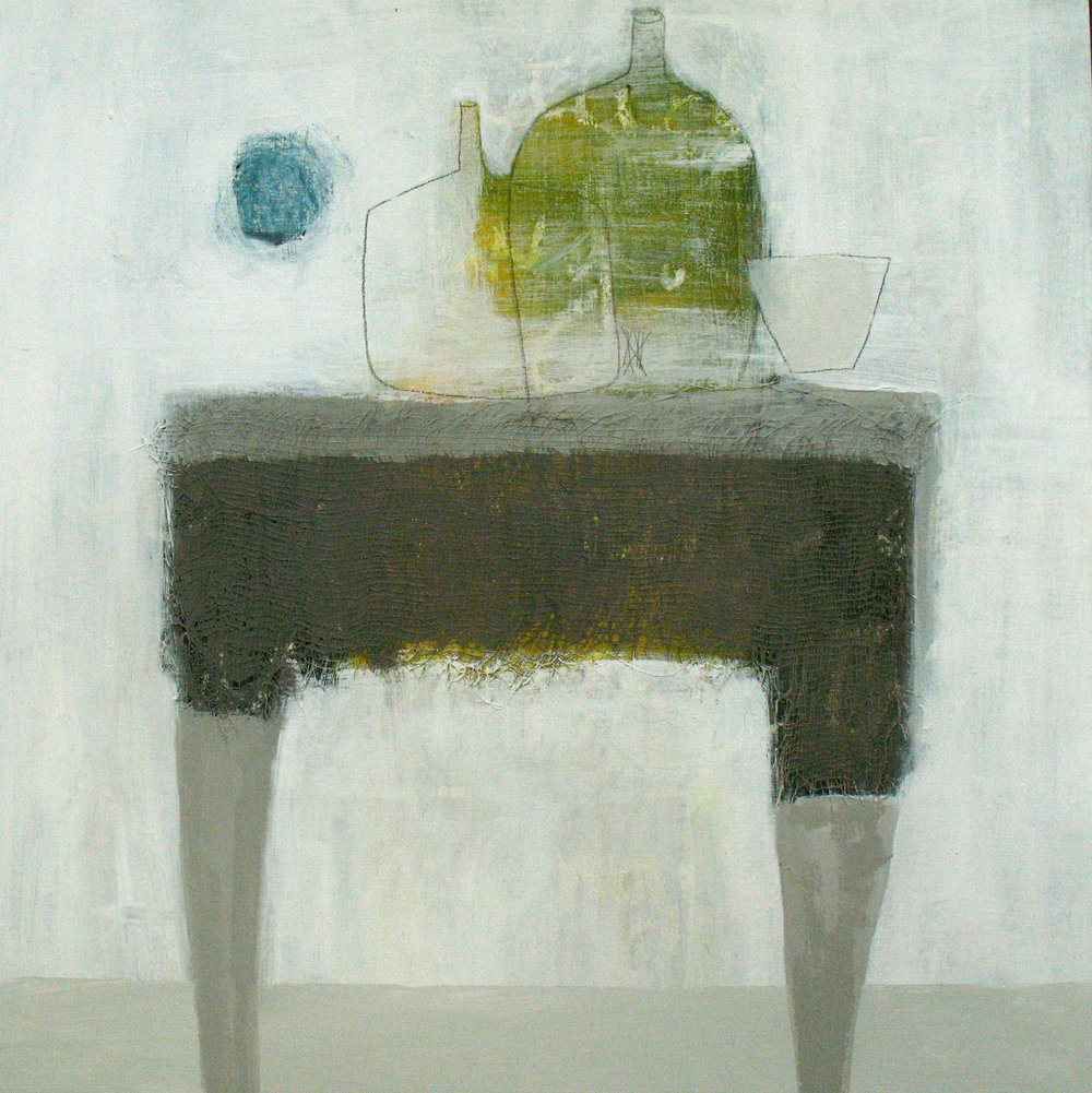 still life on grey table