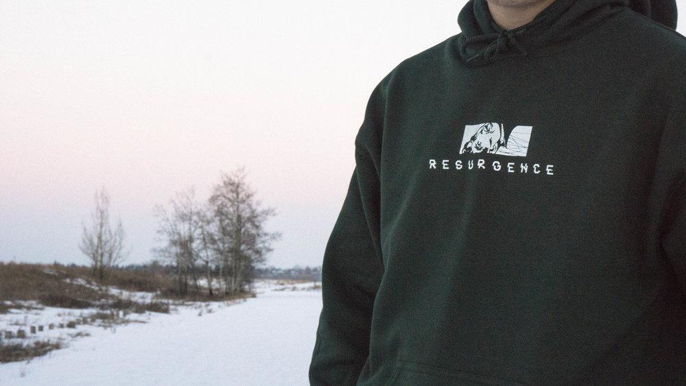 Resurgence front sweater streetwear