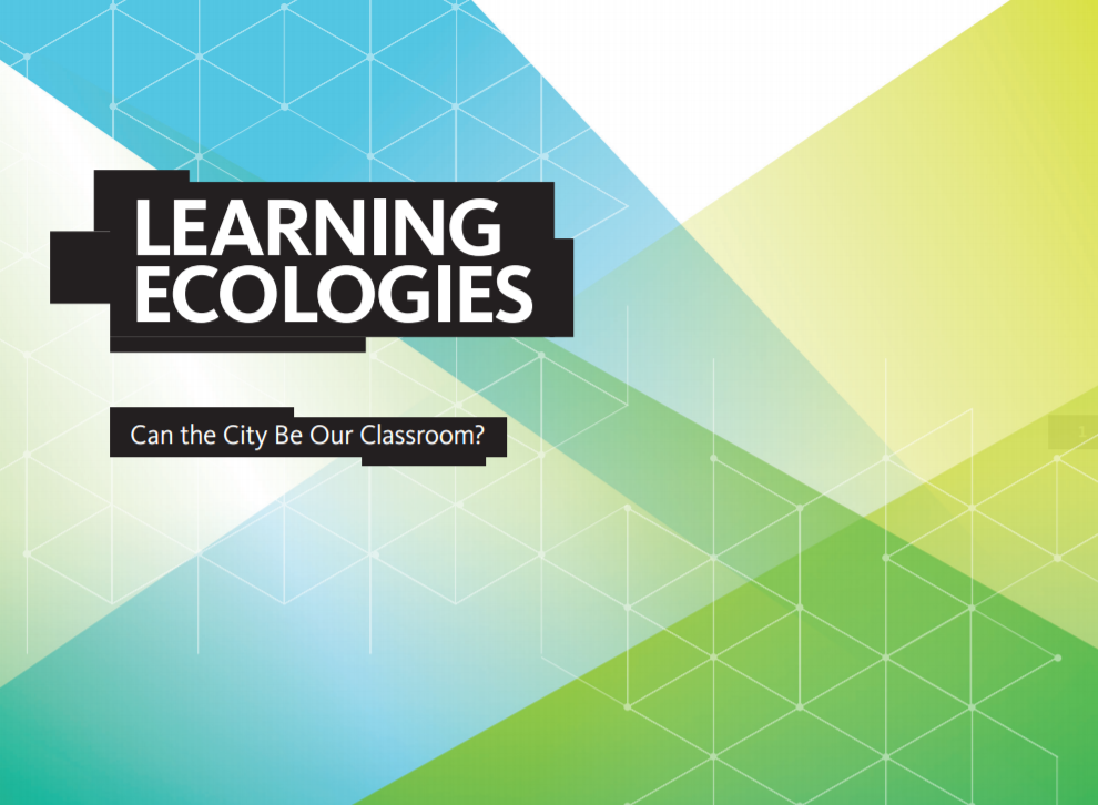 Spring and Summer 2016 /  Ashley co-facilitated and organized the  Learning Ecologies Roundtables . Read the  findings , published following curated dialogues on the experiential learning trend and what it means for educational institutions and cities.