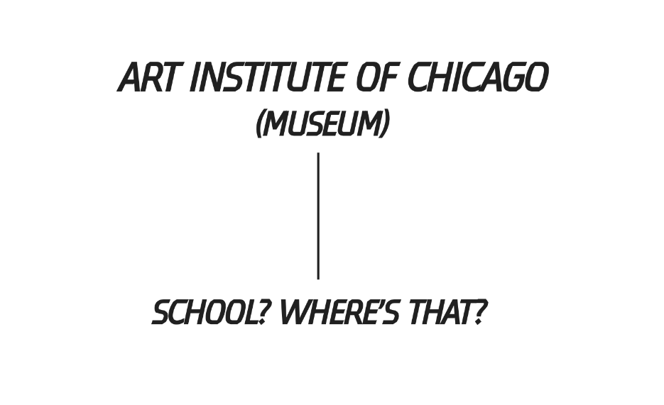 2013 /  The  School of the Art Institute of Chicago  publishes its  first Master Plan  in the school's 150 year history. Work was co-led by Ashley and aimed to reveal a campus which was a collection of hidden islands borne of happenstance and circumstance.