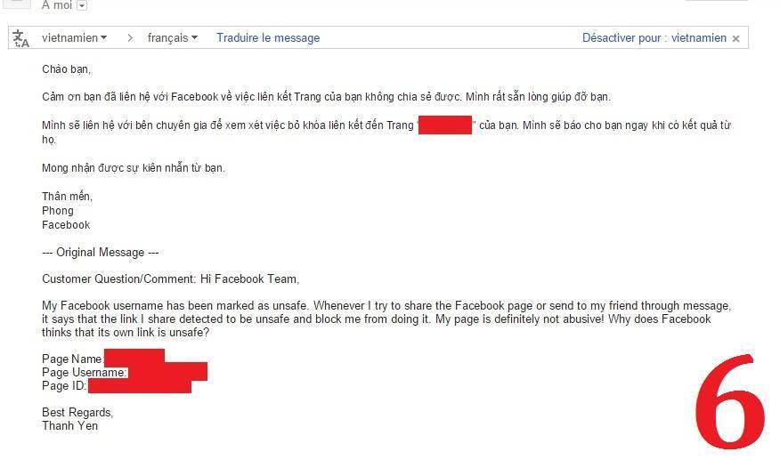 Cách mở khóa URL Fanpage bị Facebook chặn - Ảnh 6