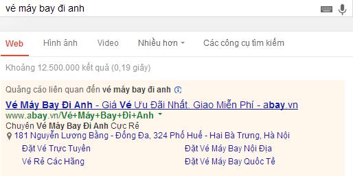 Chèn từ khóa tự động Google AdWords - Ảnh 2