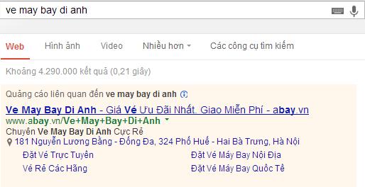 Chèn từ khóa tự động Google AdWords - Ảnh 3