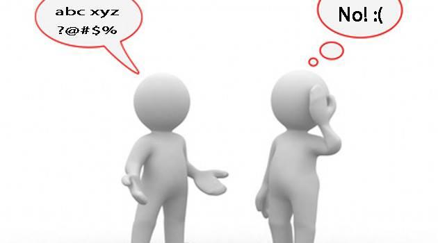 Đừng dùng NGOẠI NGỮ để nói chuyện với KHÁCH HÀNG
