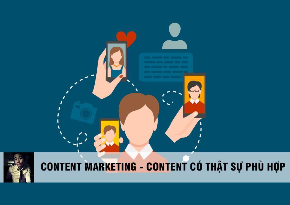 Content Marketing: Thứ bạn chia sẻ thật sự có phù hợp