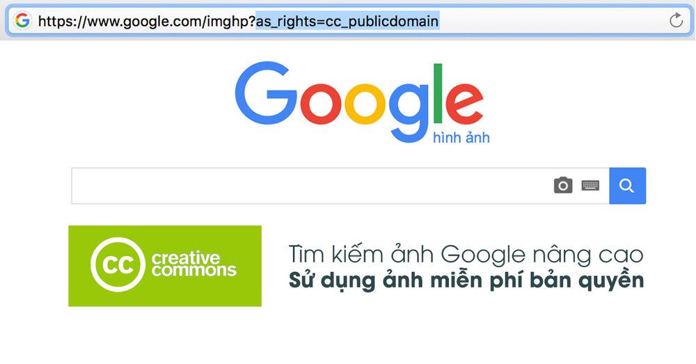 Sử dụng Google Search để tìm ảnh miễn phí bản quyền