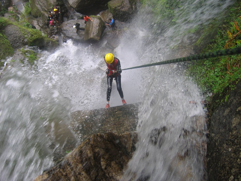 Single Day Canyoning