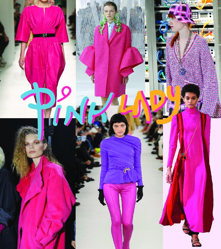 Hermes ; Delpozo ; Chanel                          Topshop Unique ; Balenciaga ; Valentino