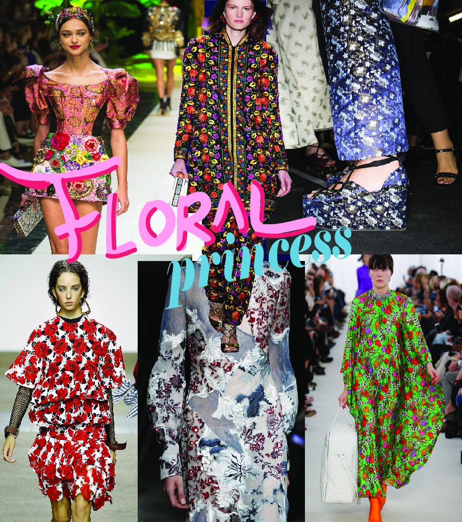 Dolce & Gabbana ; Naeem Khan ; Erdem                       House of Holland ; Erdem ; Balenciaga