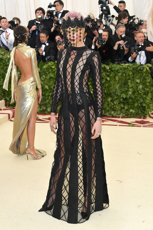 Cara Delevingne in Dior Haute Couture