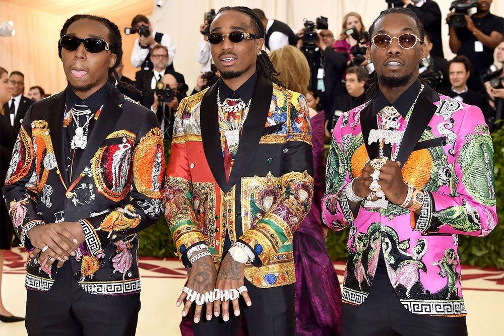 The Migos in Versace