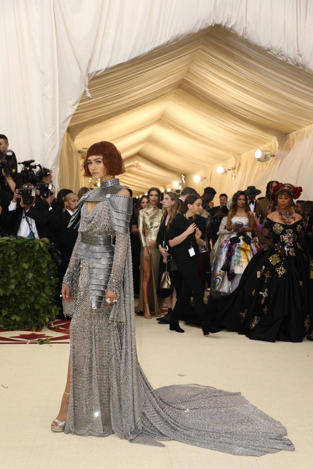 Zendaya in Atelier Versace