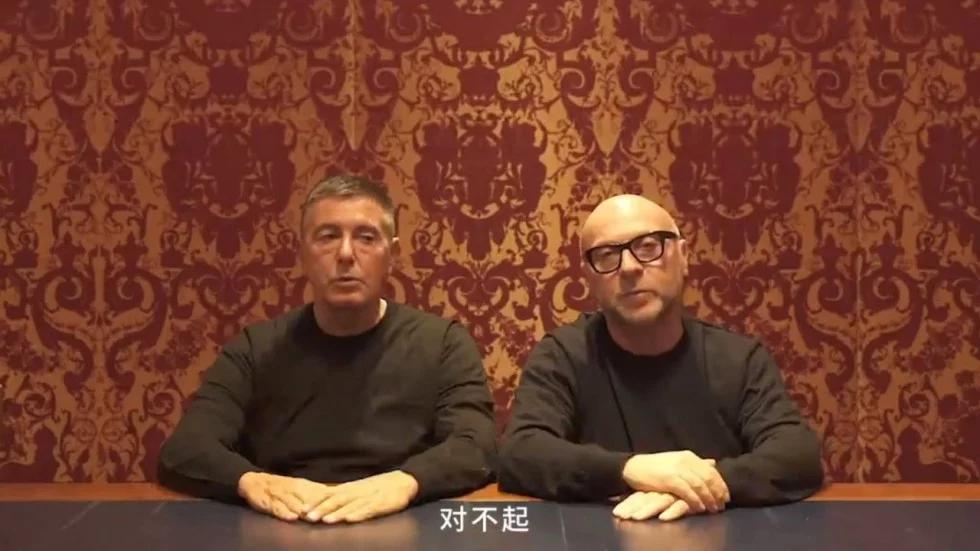 - 這嘴臉我也會。教授問我為什麼上課都缺席,我也都說: 「對不起。」(Dolce 臉)via Dolce & Gabbana YouTube Channel