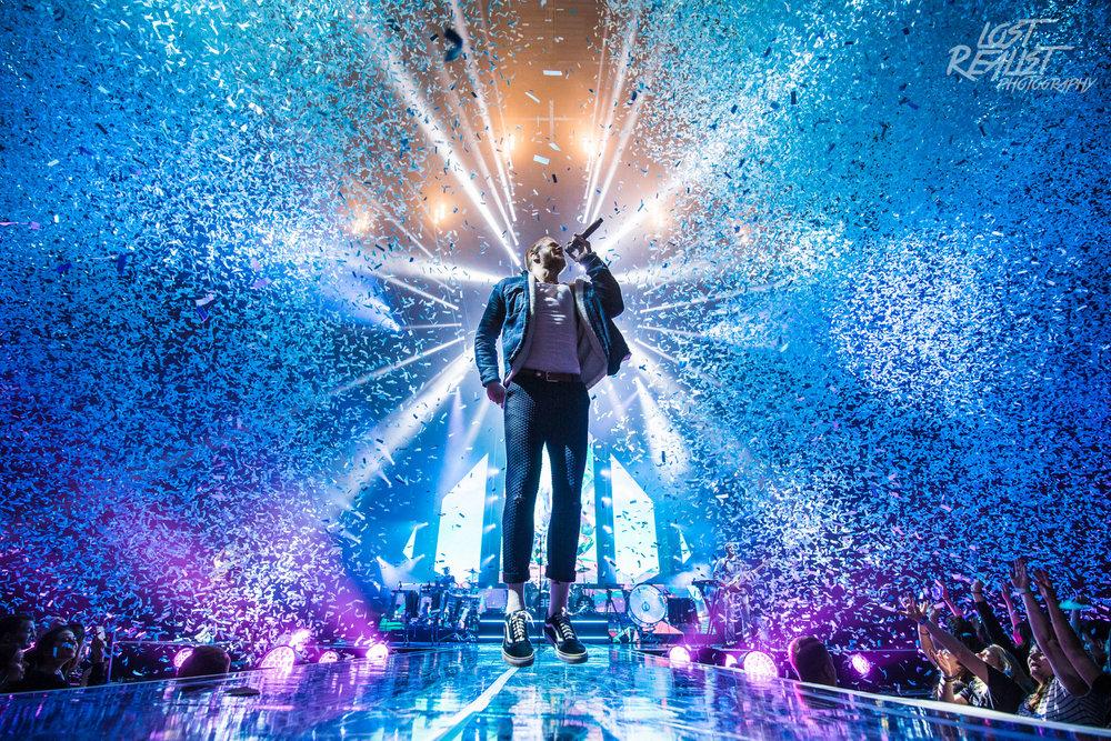 22.04.2018: IMAGINE DRAGONS - Hamburg, Barclaycard Arena