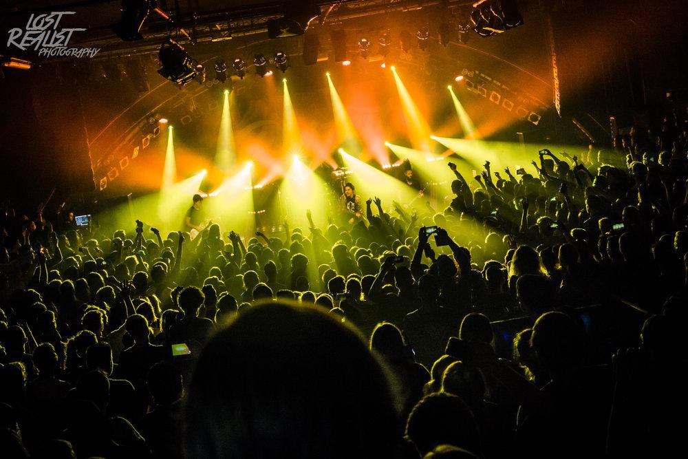 30.10.2018: OUR LAST NIGHT - Hamburg, Markthalle