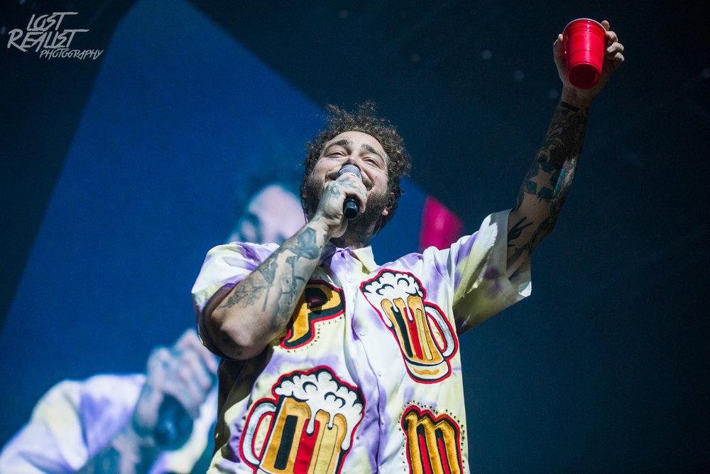 27.02.2019: POST MALONE - Hamburg, Barclaycard Arena