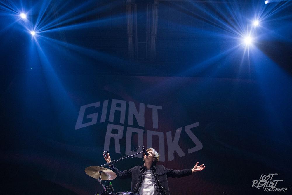 15.03.2019: GIANT ROOKS - Hamburg, Sporthalle