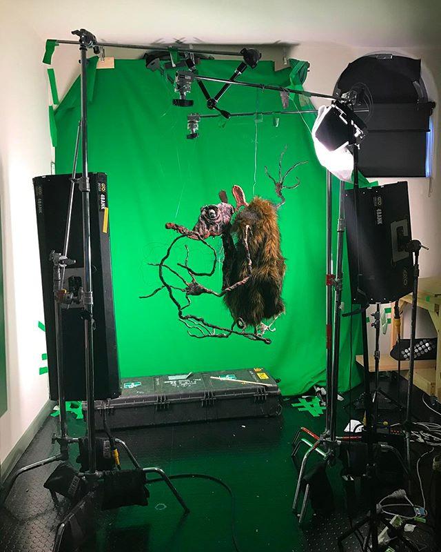 Jazz hands #stopmotionpuppet #dragonframe #vca #filmmaking #stopmotion #animation