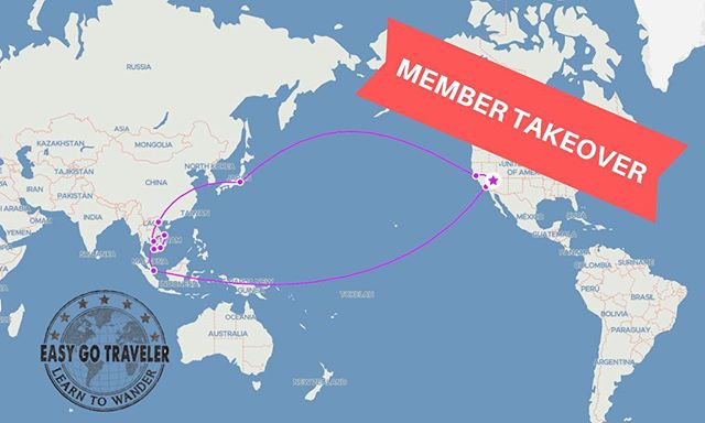 📣 MEMBER TAKEOVER: Brandon & Summer will be exploring Singapore, Cambodia, Vietnam, & Tokyo over the next two weeks and it only cost them 134,000 miles & $110! This trip would have cost $11,299 🤯 good thing they are EGT members😉 Follow along on their adventure on Instagram & Facebook stories!  #easygotraveler #learntowander #takeover #asia #pointsandmiles #singapore #vietnam #cambodia #tokyo #japan #explore #wandertheworld #travel #travelphotography #map #flights #vacation #bucketlist #travel