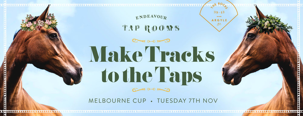Tap Rooms Melbourne Cup