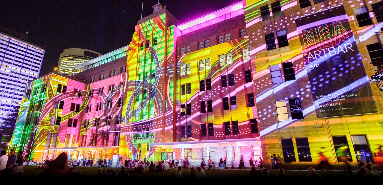 MCA Vivid lights