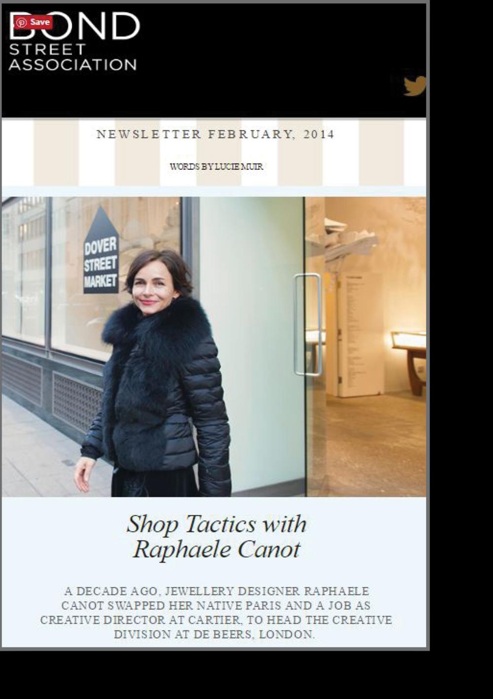 Shop tactics with Raphaele Canot