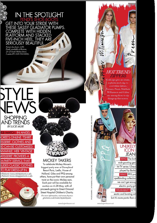 June 09 Style News Harpers Bazaar