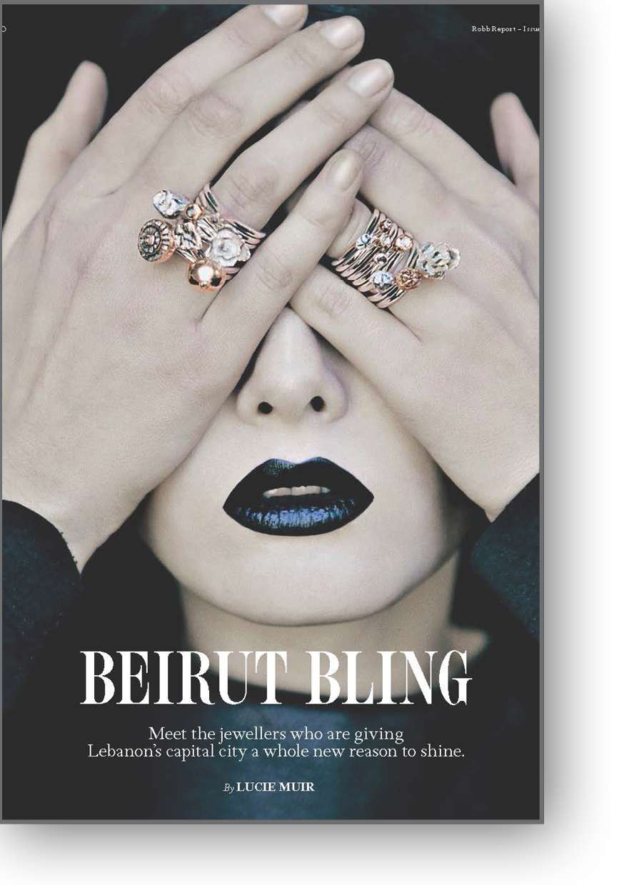 Article on Beirut Bling by Lucie Muir