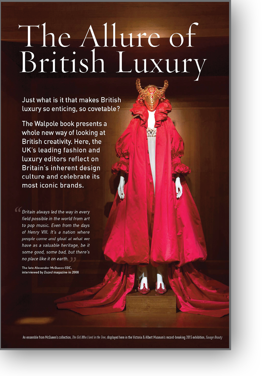The Allure of British Luxury by Lucie Muir