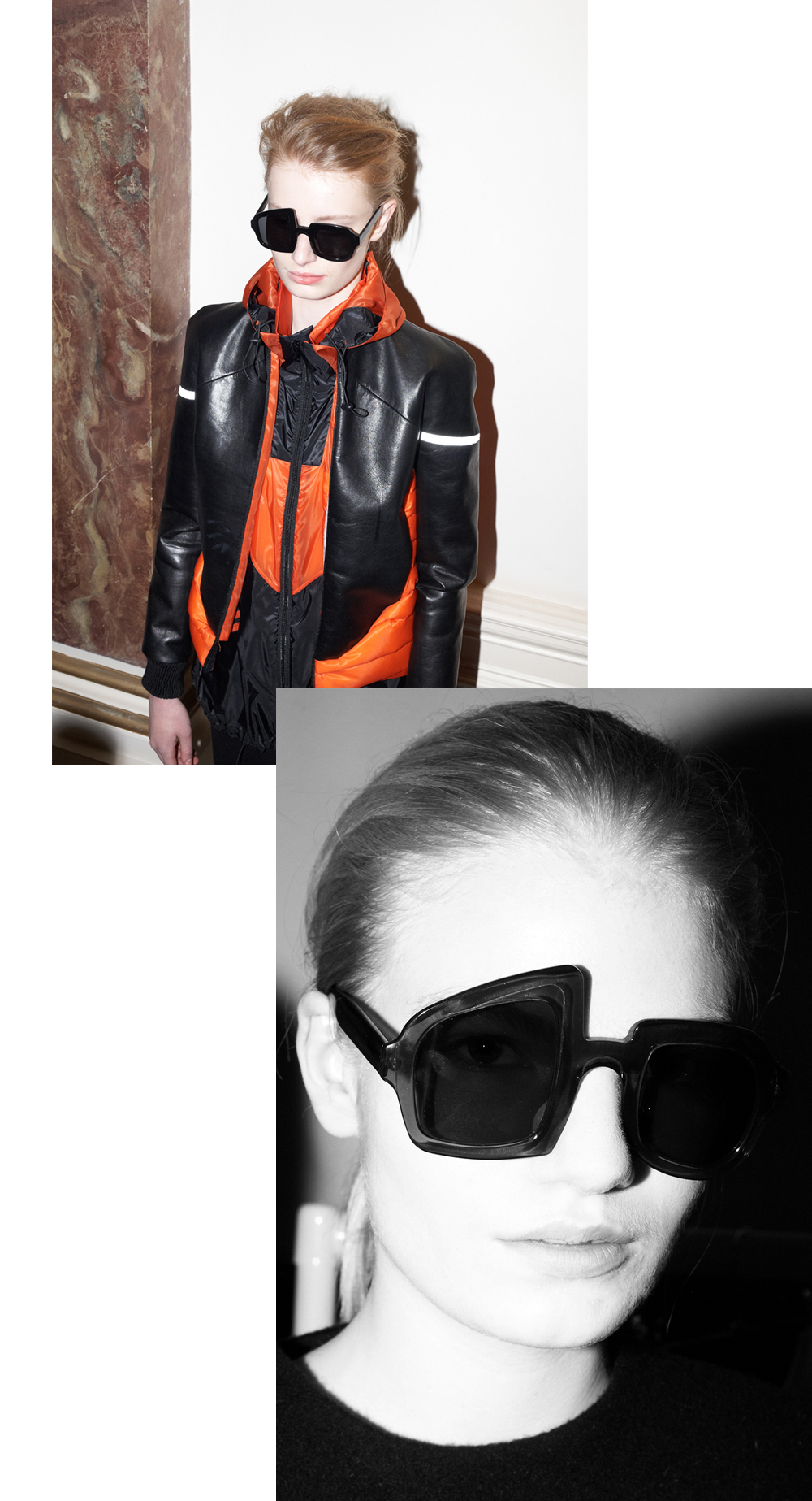 THOMAS TAIT AW13 ACETATE SUNGLASSES by GUCEWICZ
