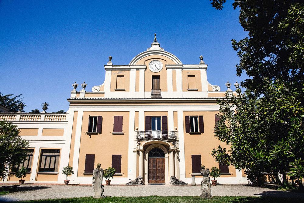 Villa Zarri, Castelmaggiore, Bologna
