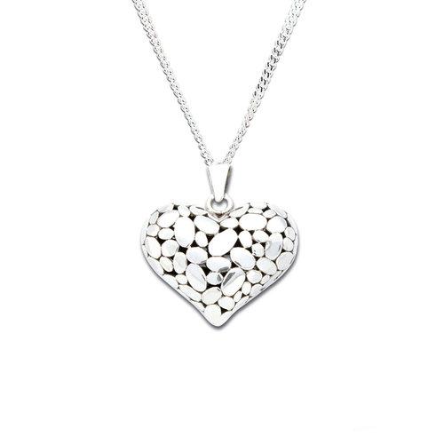 Sterling silver heart pendant meikah jewellery sterling silver heart pendant aloadofball Gallery