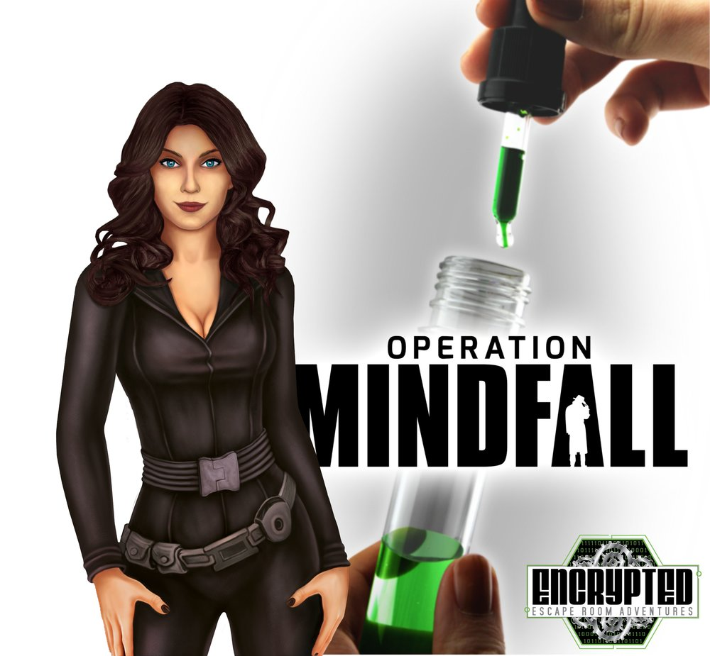 OPERATION MINDFALL: A SPY ADVENTURE... - The insidious tech company, Spider Technologies, has released a sinister mind-control virus infecting the world as we speak. Can you can find the antidote, hack their servers, and prevent the hostile takeover of the world?