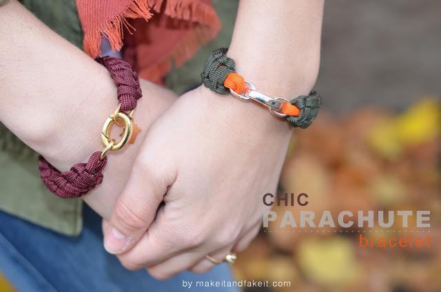 Diy Paracord Bracelet Make It Fake It