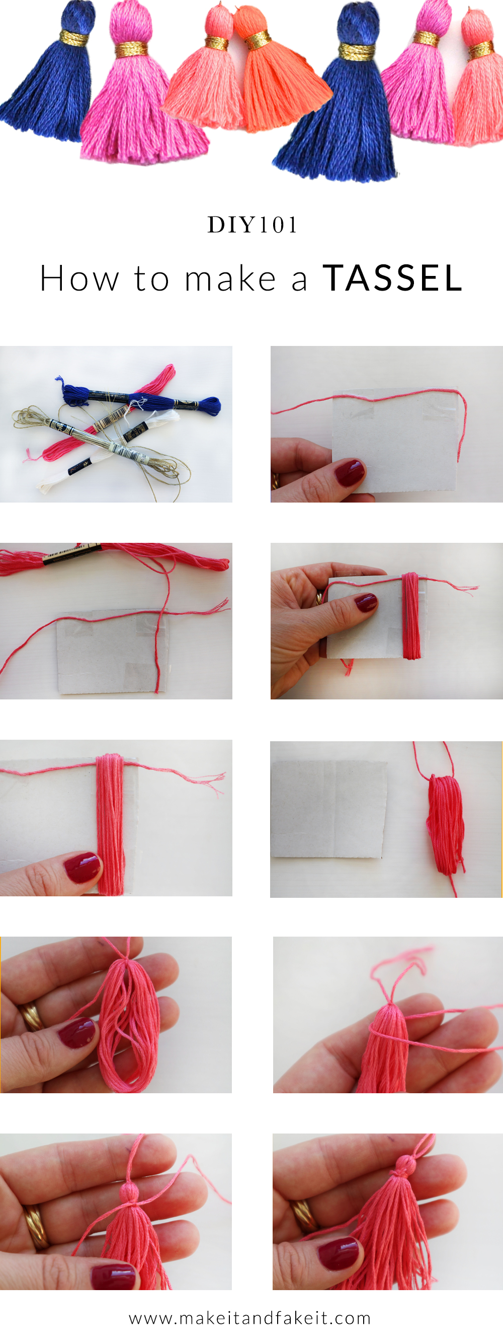 DIY101: How to make a tassel