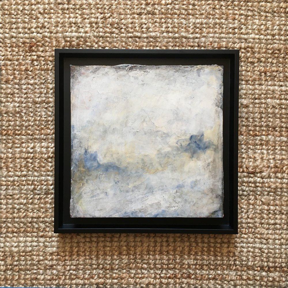 original frame on 4cm deep birch panel