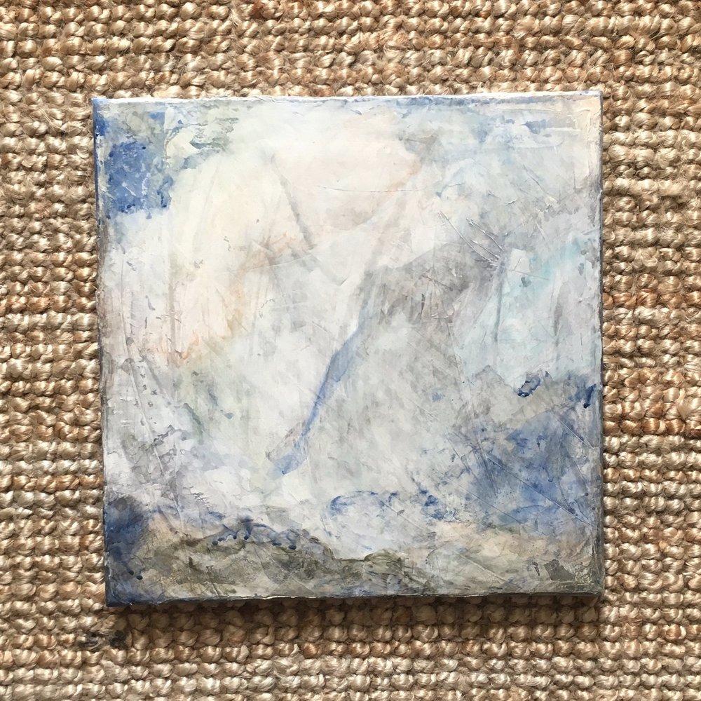 2cm deep wrapped canvas