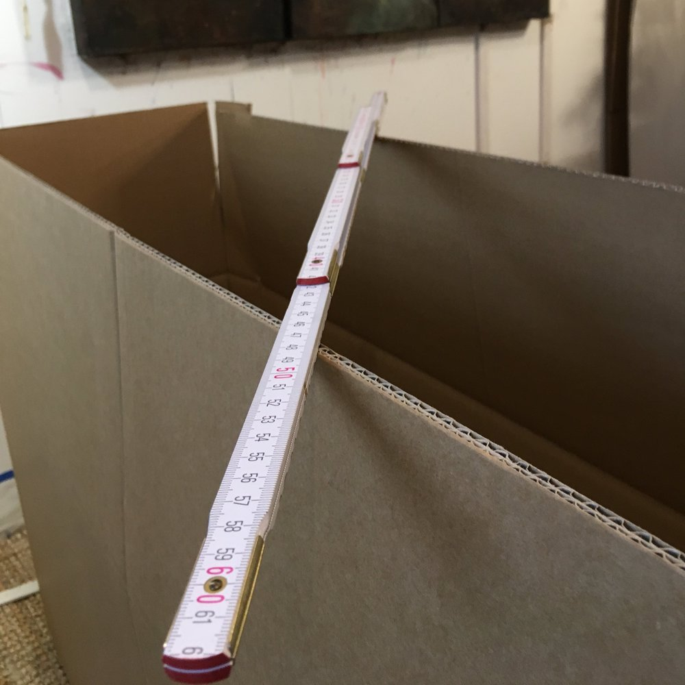 Finding the perfect box size was tricky too