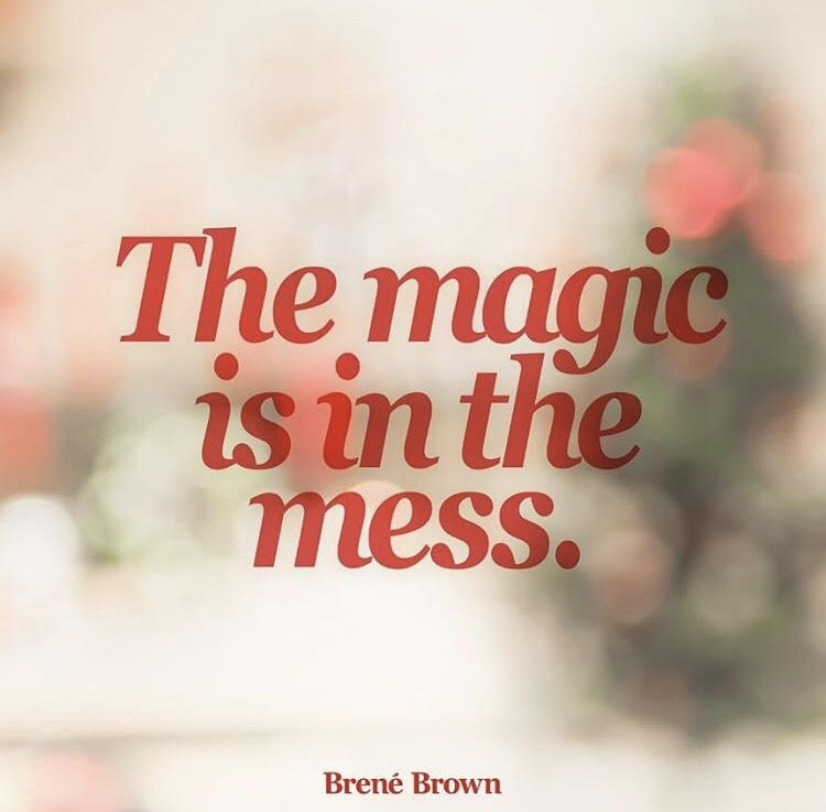Love Brene Brown, If you don't follow her already go like all her stuff right now - so good.