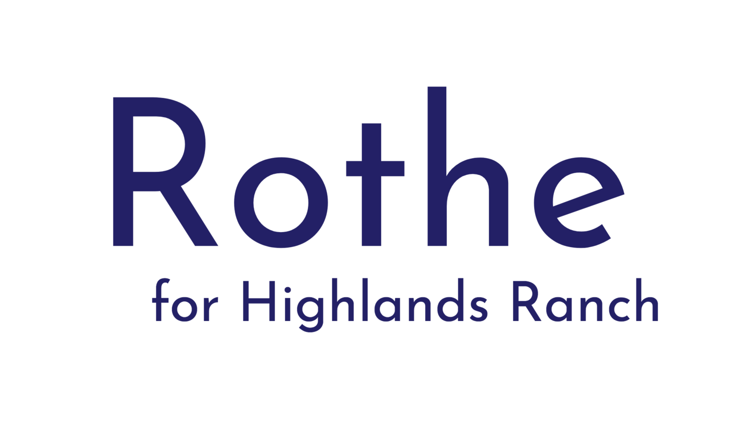 Rothe for Colorado