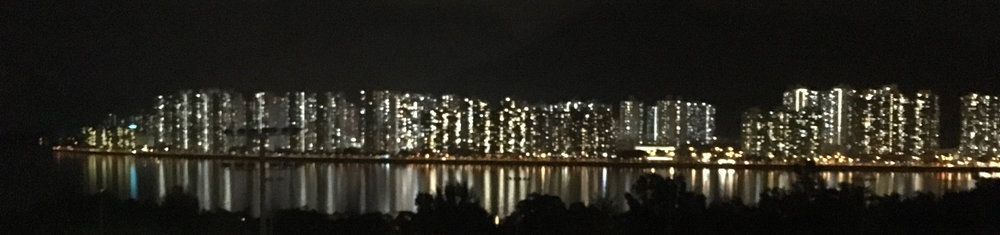 "Chris flew to Hong Kong in June 2017 to speak at the Germinal Stem Cell Biology Gordon Research Conference. This year's focus was on ""Programming and Reprogramming the Vertebrate Germline"". This is a view of the Hong Kong skyline across from a balcony at Morningside College, the site of the Wednesday night social."