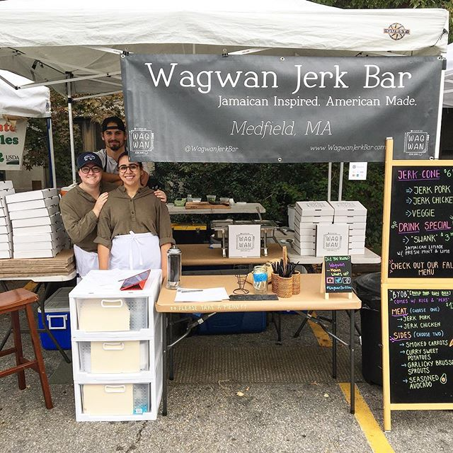 Solid looking team for the Waltham Farmers Market today. Thanks to Claudia and Taylor for rounding out the squad. See y'all again in 2 weeks.