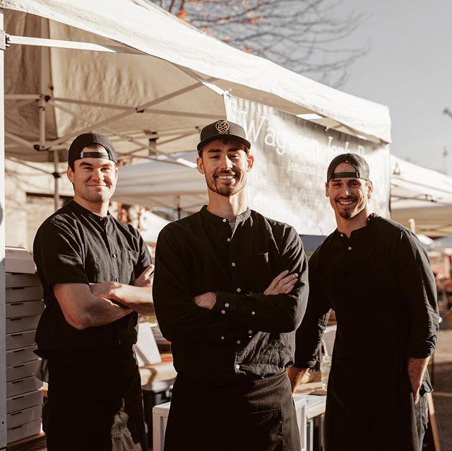 Who's missing this crew of chicken slingers? . . . #popuprestaurant #travel #foodie #foodporn #foodies #foodintheair #foodtruck #foodtravel #traveling #wagswag #jerkchicken #jerkpork #worldtraveller #worldtravel #bostonfoodtrucks #bostoneats #bostonfoodies #bostonfoodie #bostonfood #bostonfoodjournal #wagwanjerkbar #wagwan #jerk #caribbeanfood #caribbean #wagwanworld #popuprestaurant