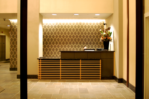 Rittenhouse Lobby and Reception