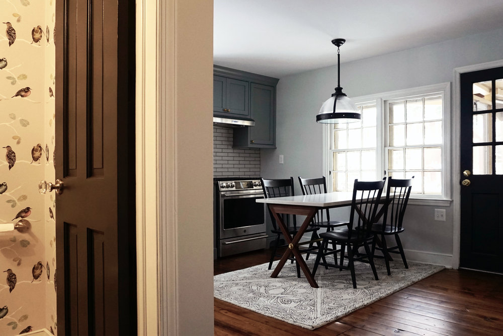 Potter Street Kitchen with Powder Room
