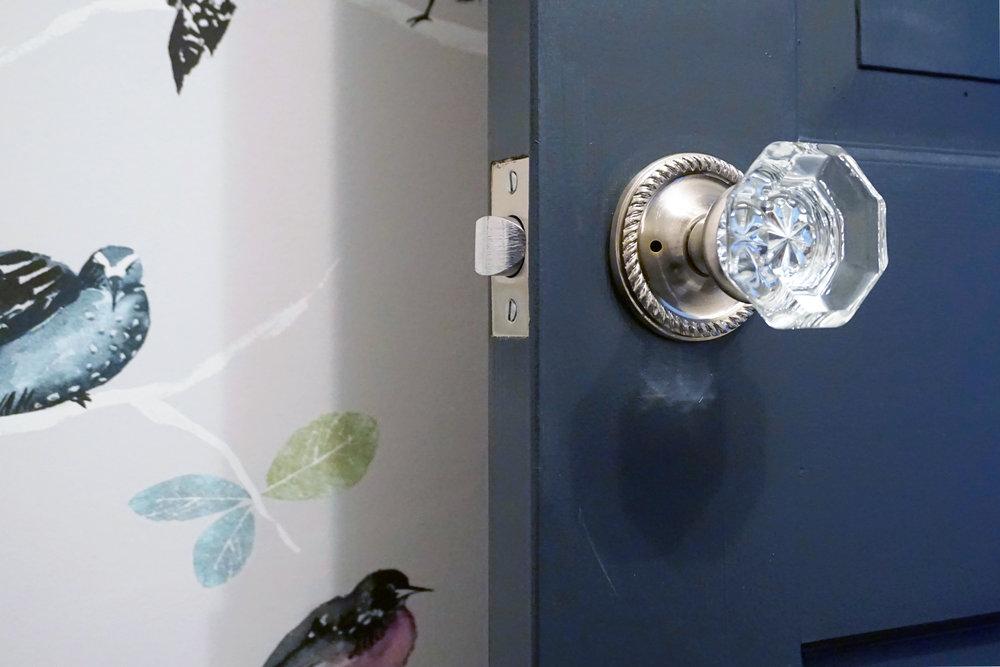 Potter Street Powder Room Detail