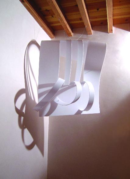 Polycarbonate 3 Polycarbonate, brass, steel, shadow 2008