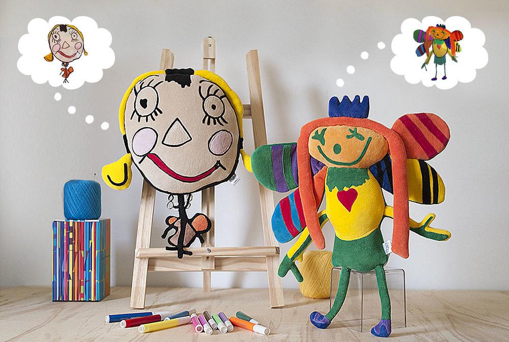 desenhos que viram bonecos